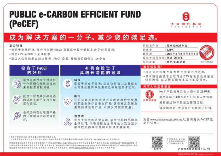 大眾e-低碳效率基金